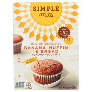 Simple Mills Banana Muffin And Bread Baking Mix, 9 Oz