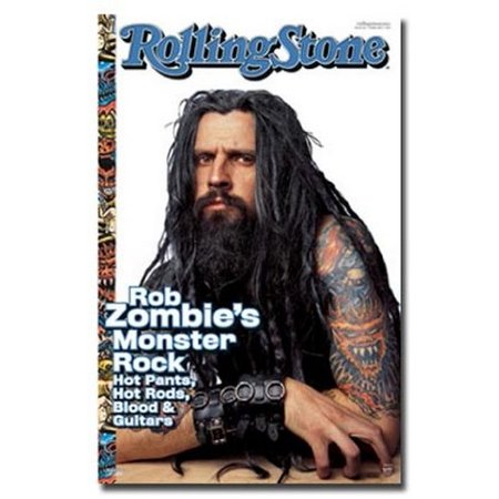 Rob Zombie Poster Rolling Stone Cover New - Halloween Rob Zombie Movie Poster
