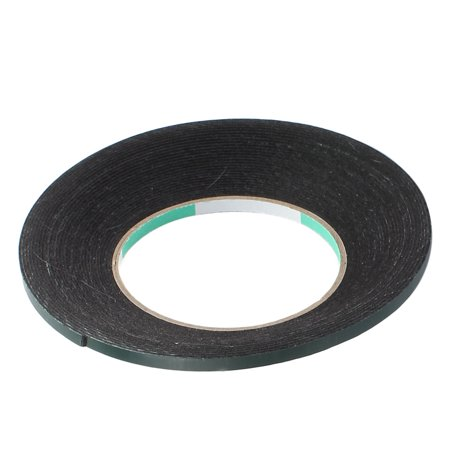 5pcs 10M x 5mm x 1mm Double-side Self Adhesive Shockproof Sponge Tape Green - image 1 of 4