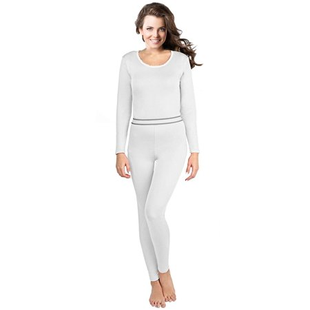 5a6cab986a123c Rocky - Rocky Women's Thermal Underwear, 2 pc Ultra Soft Warm Fleece Lined Long  Johns, Top & Bottom - Walmart.com