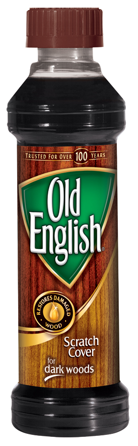 Old English Scratch Cover For Dark, Old English 8 Ounce Dark Wood Furniture Polish And Scratch Cover