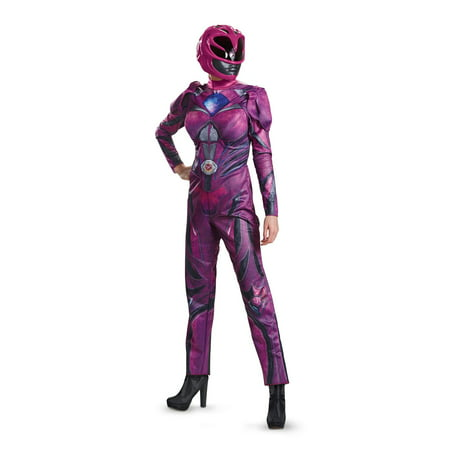 Power Rangers Deluxe Pink Ranger Adult Costume](Power Rangers Costume Pink)