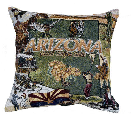 State Of Arizona Pillow