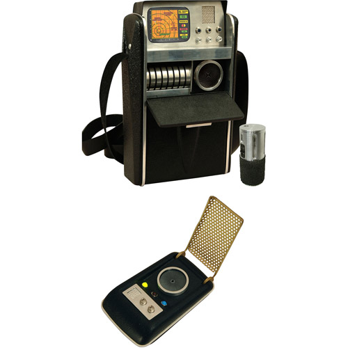 Star Trek The Original Series Life Size Accessory Replica Communicator & Tricorder by DIAMOND