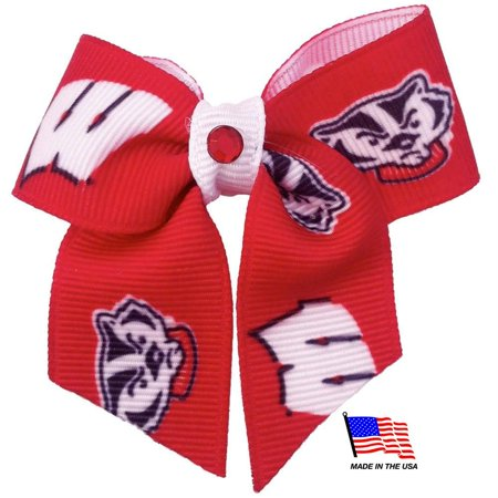 Wisconsin Badgers Pet Hair Bow - image 1 of 1