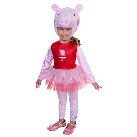 Peppa Pig Adult Costume (Peppa Pig Super Deluxe Tutu)