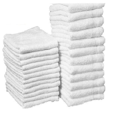 Cleansing Towel - GHP 36-Pcs White 12
