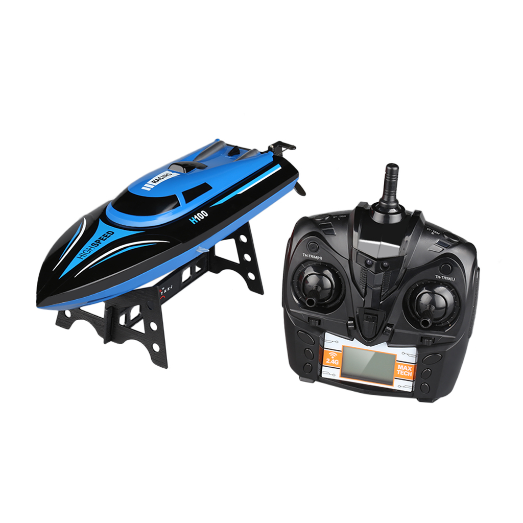 Virhuck Rc Boat, H100 2.4G RC High Speed Racing Boat 180° Flip Radio Controlled Electric Toy Gift