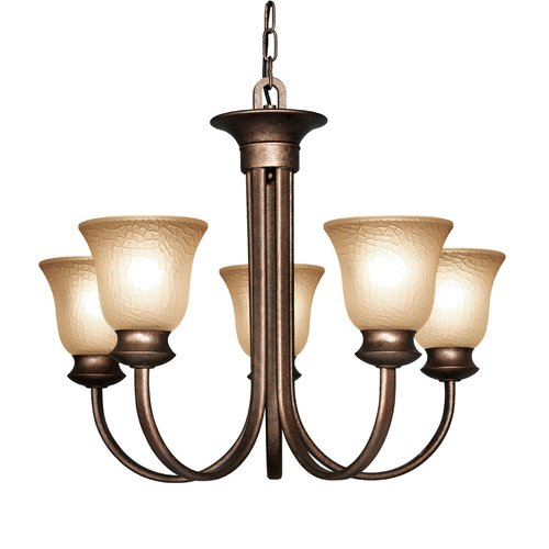 Woodbridge Lighting Dresden 5-Light Shaded Chandelier