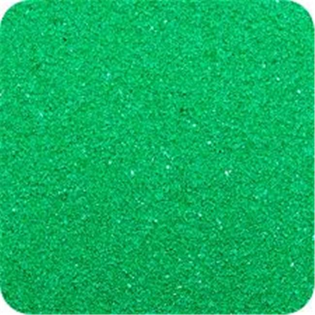 Classic Colored Sand 14 oz. Bottle - Shake & Pour Lid - Emerald Green