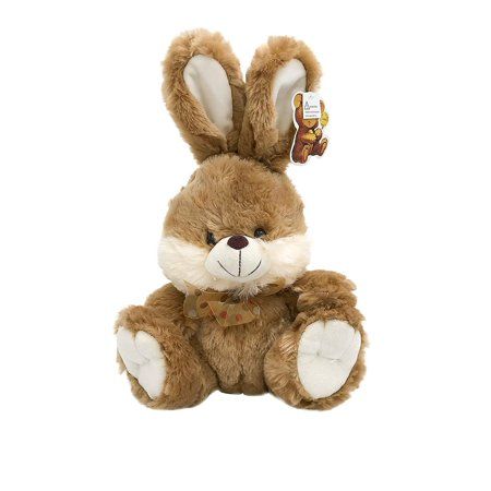 Brown Bunnie (Brown Bunny Fluffy Plush Toy With Lighted Cheeks and Musical Cover Song 'You Are My)