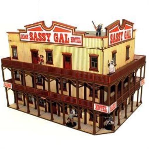 Sassy Gal Saloon, The (Pre-Painted) New by 4Ground