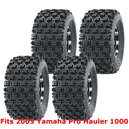 Set 4 WANDA ATV Tires 22x11-10 2005 Yamaha Pro Hauler 1000 GNCC