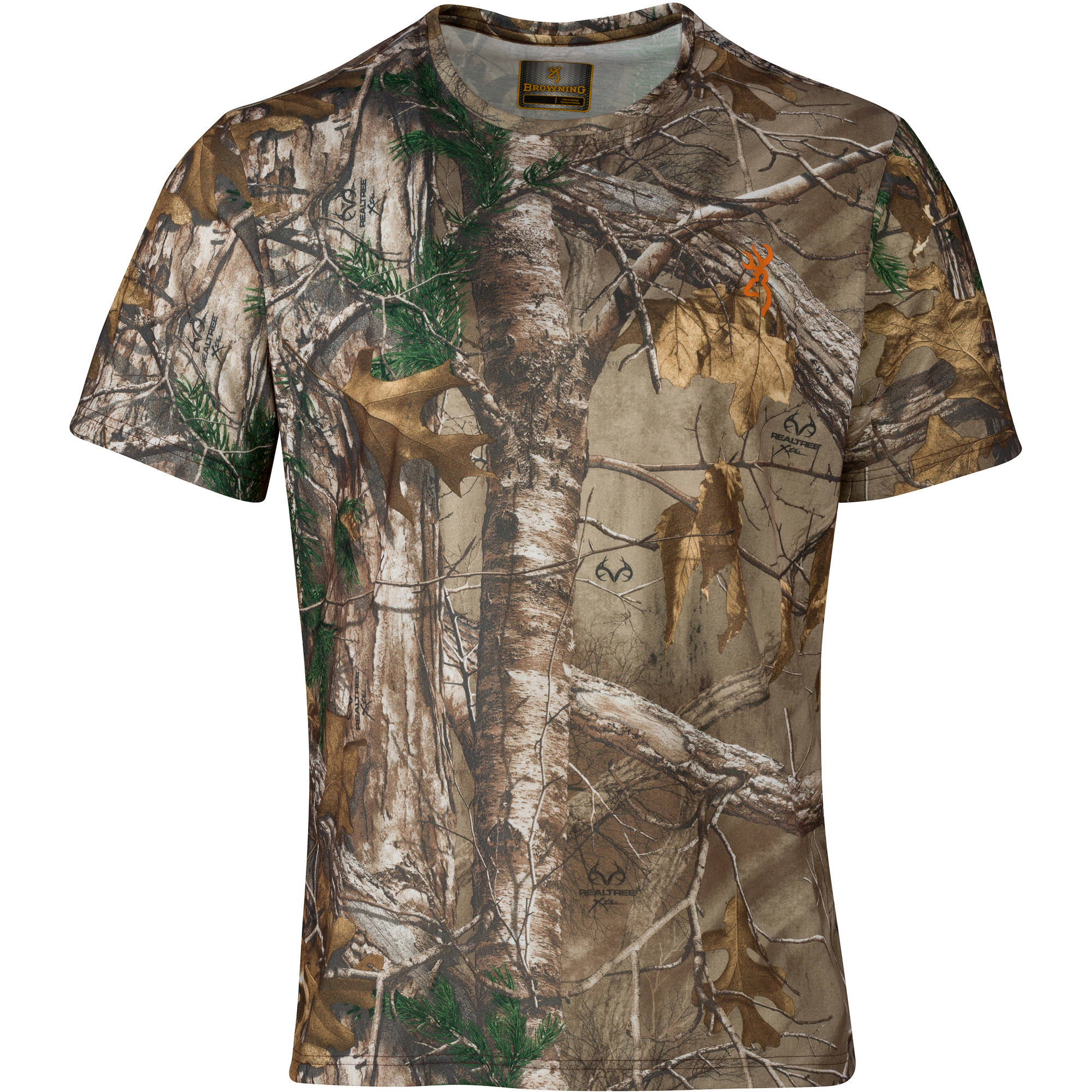 Browning Scope Tee Shirt, Realtree Xtra