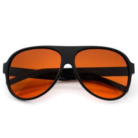 b8188195a0069 WearMe Pro - WearMe Pro - Driving Aviator Blue Blocker Sunglasses ...