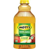 Mott's 100% Apple Juice, 64 Fl Oz Bottle