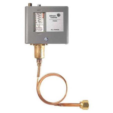JOHNSON CONTROLS P70CA-2C Pressure Control, Low, 50 to 500