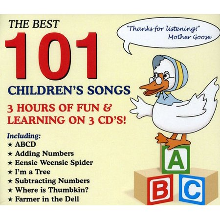 Best 101 Children's Songs (The Best Halloween Songs)