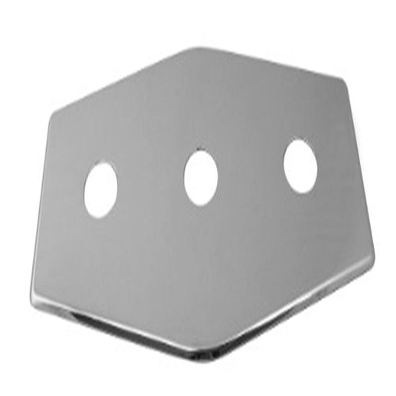 West Brass D505-07 3-Hole Remodel Plate in Satin Nickel
