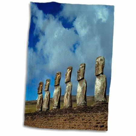 Claunch Chile Easter Island Moai Statues at Ahu Akivi Hand