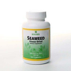 Seaweed 500mg Seagate Vitamins 100 VCaps