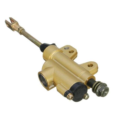 Rear Foot Brake Master Cylinder 50 70 90 110 125 150 200 250cc ATV Dirt Pit