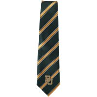 Baylor Bears Woven Poly Striped Tie - No Size