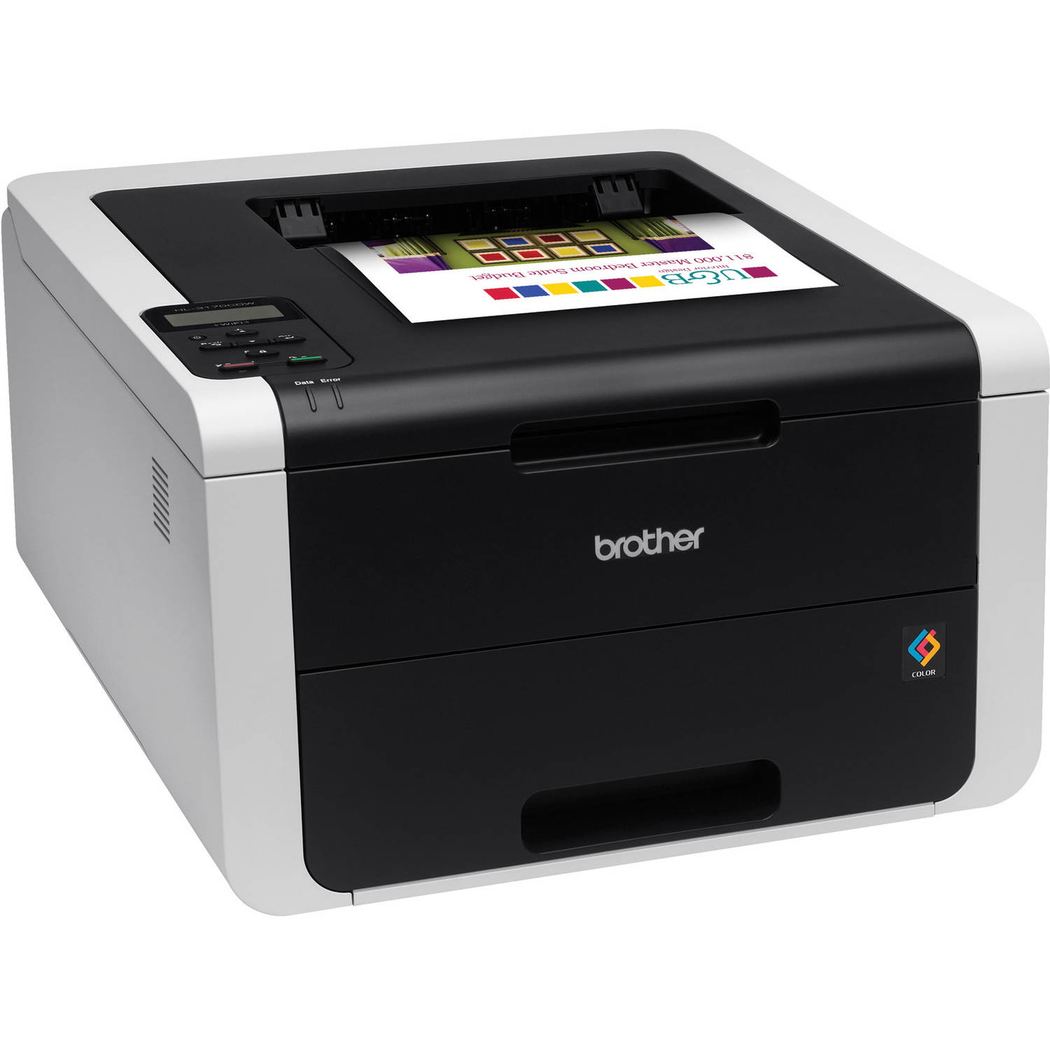 Refurbished Brother HL3170CDW Color Laser Printer