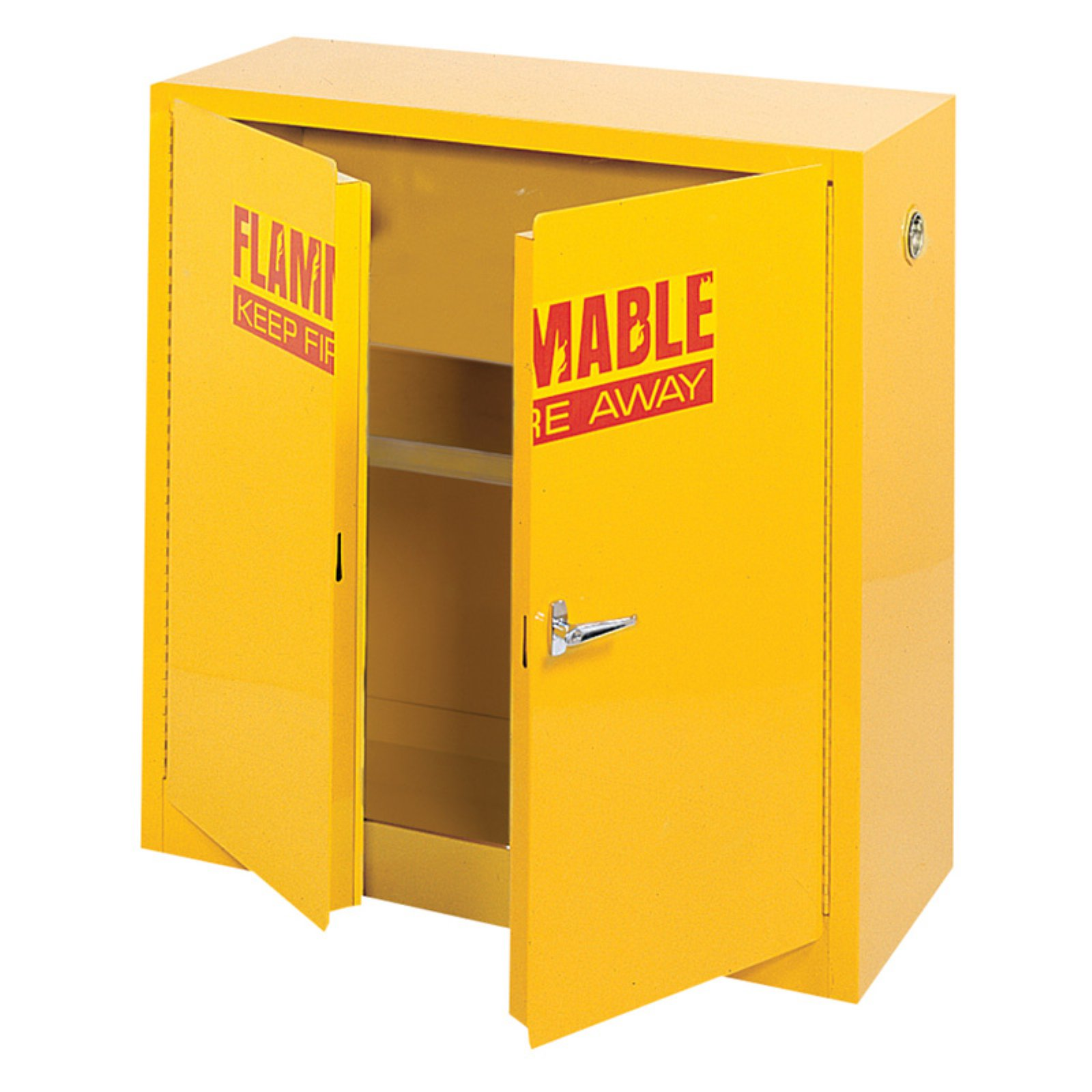 Edsal 43 in. Compact Flammable Safety Steel Cabinet