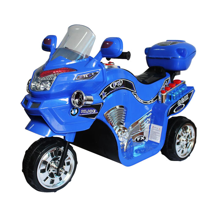 Ride on Toy, 3 Wheel Motorcycle for Kids, Battery Powered Ride On Toy by Lil' Rider - Ride on Toys for Boys and Girls, 2 - 5 Year Old - Yellow FX