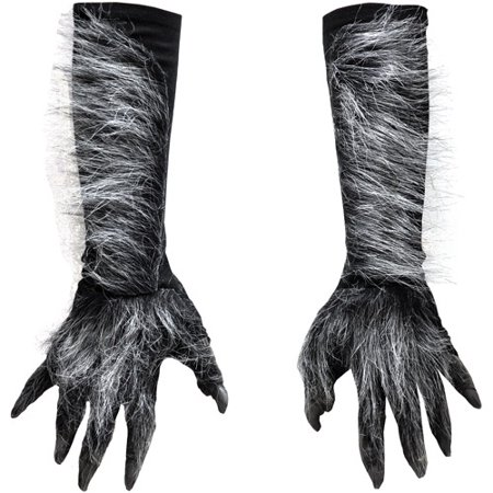 Halloween Adult Werewolf Hands