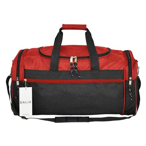 """Gym Bag Walmart: DALIX 21"""" Blank Sports Duffle Bag Gym Bag Travel Duffel"""