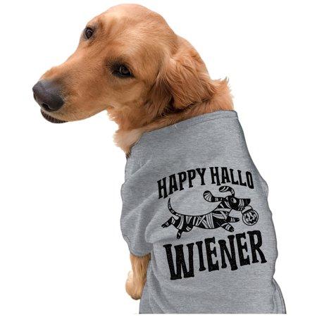 Corgi Happy Halloween (Happy Hallo Wiener Dog Shirt Funny Halloween Tee For Pet)