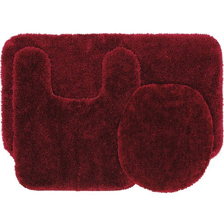 Mainstays 3 Piece Bath Rug Set