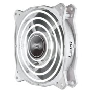 Pc Fans, Advance 120mm High Performance Led Silent Cooling Fan Pc, White