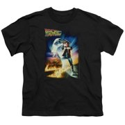 Back To The Future Poster Little Boys Shirt