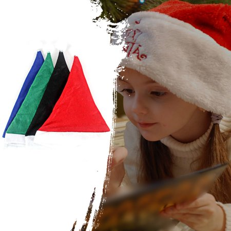 Christmas Hat Ordinary Non-Woven Adult Children'S Hat Christmas Decorations - image 4 of 6