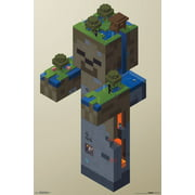 Trends International Minecraft Zombie Swamp Wall Poster 22.375