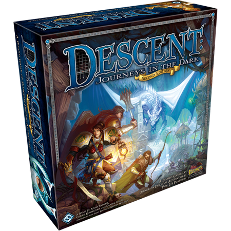 Descent Journeys in the Dark Second Edition Strategy Board - The Dark Games