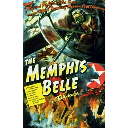 The Memphis Belle A Story of a Flying Fortress Movie Poster (11 x
