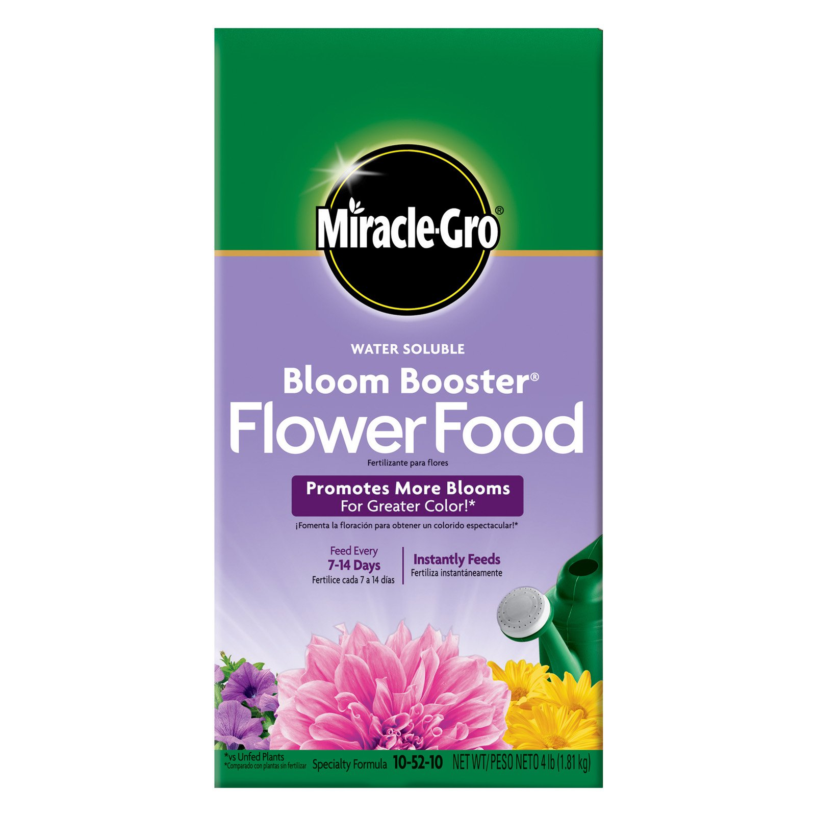 Miracle Gro Water Soluble Bloom Booster Flower Food