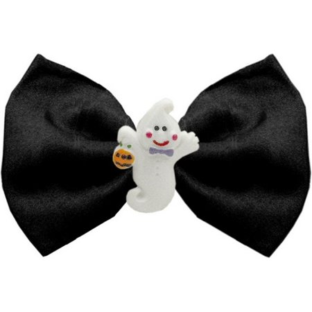 Mirage 47-03 BK Ghost Chipper Black Pet Bow Tie 3.5