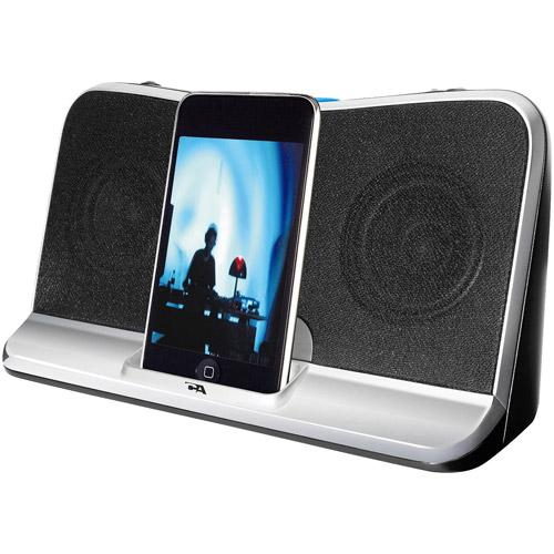 Cyber Acoustics CA-492 Portable iPod Docking Speaker