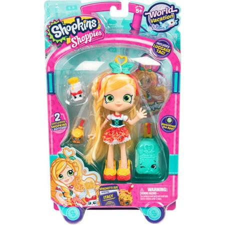 (Shopkins Series 8 Wave 1 Doll Europe Spaghetti Sue: Shoppies WorldVacation Themed Dolls)