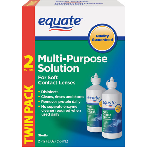 Equate Sterile Multipurpose Solution 12 fl oz