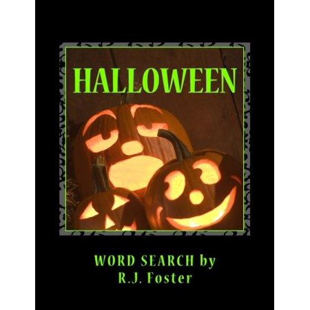 Halloween: Word Search (Words Describing Halloween)