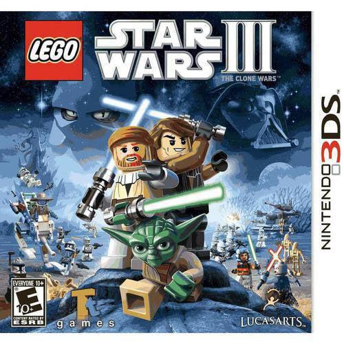 Lego Star Wars III The Clone Wars - Nintendo 3DS