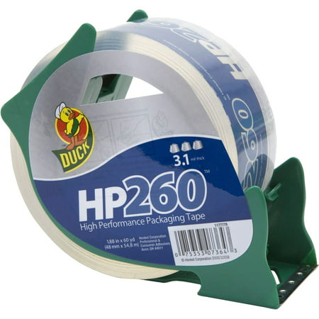 Duck Brand, DUC07364, HP260 Packing Tape, 1 Roll, Clear - Duck Pack