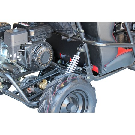 Coleman Powersports KT196 196cc Gas Powered Go-Kart - Black
