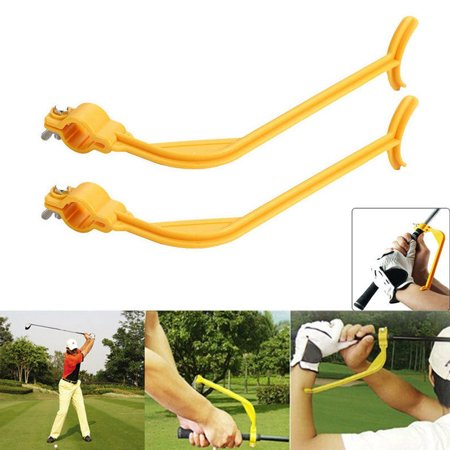 Golf Beginner Gesture Alignment Swing Trainer Training Aids Practice Guide Wrist Correct Tools